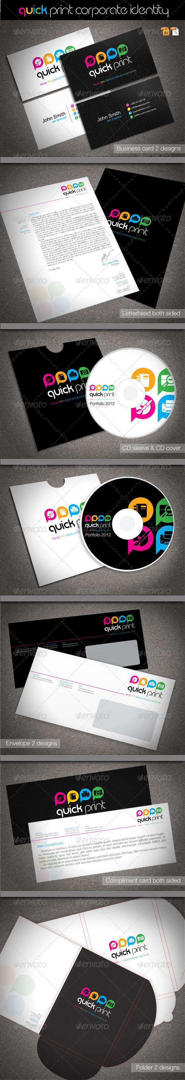 GraphicRiver Quick Print Corporate Identity 1613497