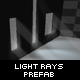 Light Rays Prefab - ActiveDen Item for Sale