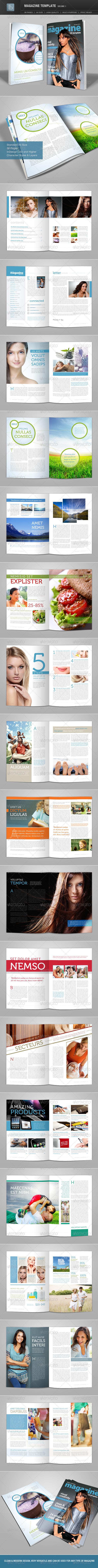 GraphicRiver Magazine Template Volume 1 1614020