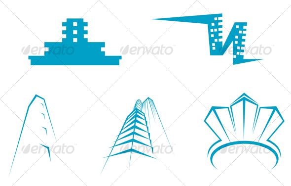 GraphicRiver Real estate symbols 63167