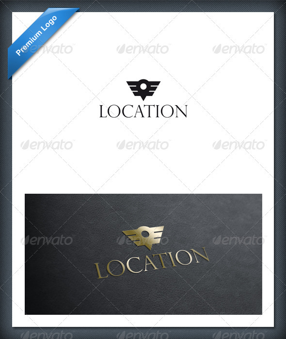 GraphicRiver Location Logo Template 1614696