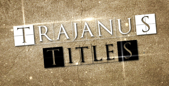 After Effects Project - VideoHive Trajanus Titles Epic trailer 110008