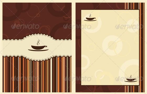 GraphicRiver Coffee menu design 1618063