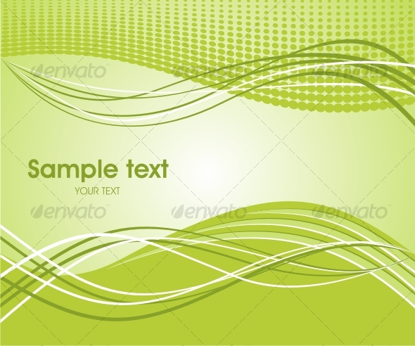 GraphicRiver Abstract wave background 63301