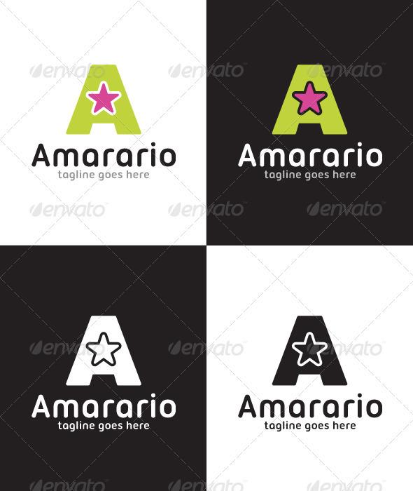 GraphicRiver A-Star Logo 1618836