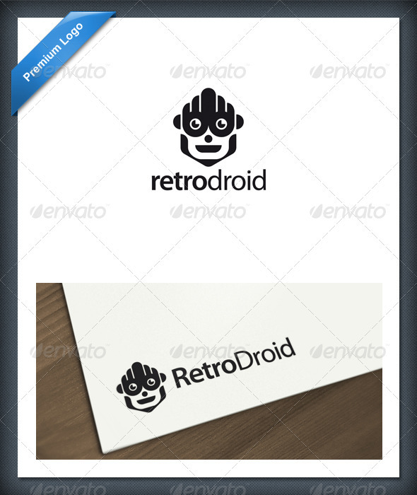 GraphicRiver Android and Robot Logo Template 1619639