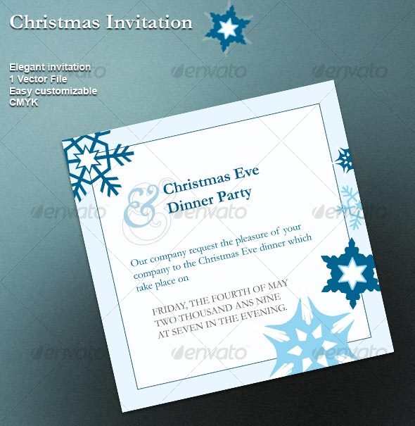 GraphicRiver Christmas Invitation 63364