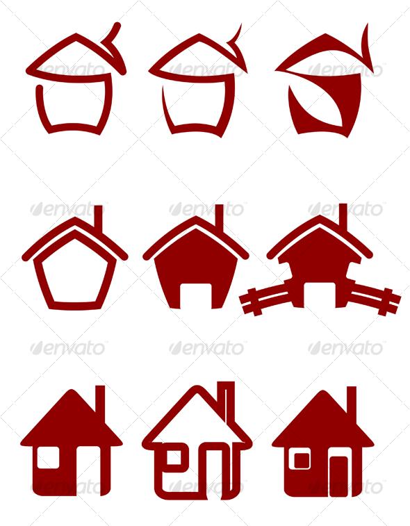 GraphicRiver Real estate symbols 63372
