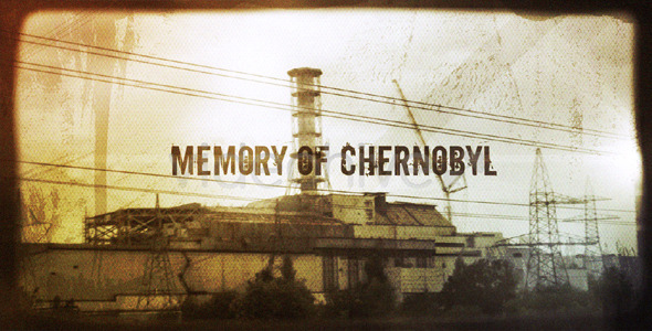 After Effects Project - VideoHive Memory of Chernobyl 497807