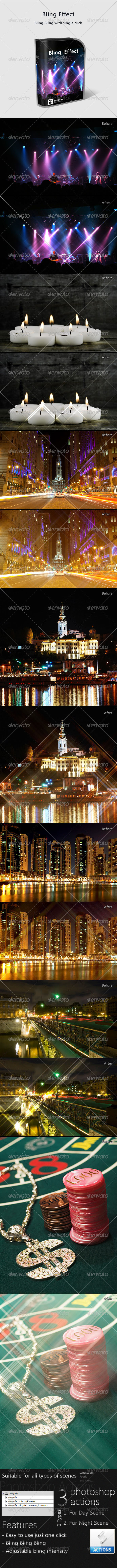 GraphicRiver Bling Effect Action Pack 234571