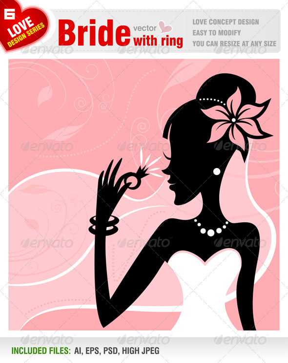 GraphicRiver Bride with ring 1623287