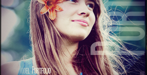 After Effects Project - VideoHive Model Portfolio 476460