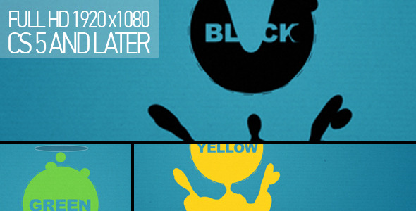 VideoHive Liquid shapes 1584521