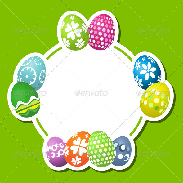 GraphicRiver Easter Egg Background 1627149