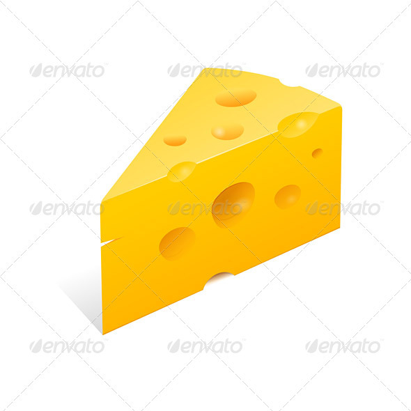 GraphicRiver Cheese Illustration 1627167