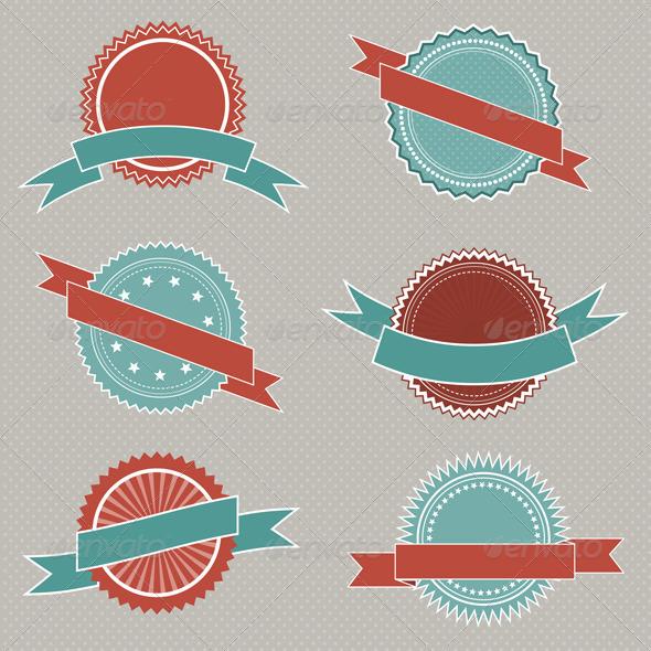 GraphicRiver Retro Badge Emblems 1627186