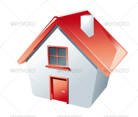 GraphicRiver House icon 63596