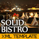 SOLID BISTRO - XML Template - ActiveDen Item for Sale