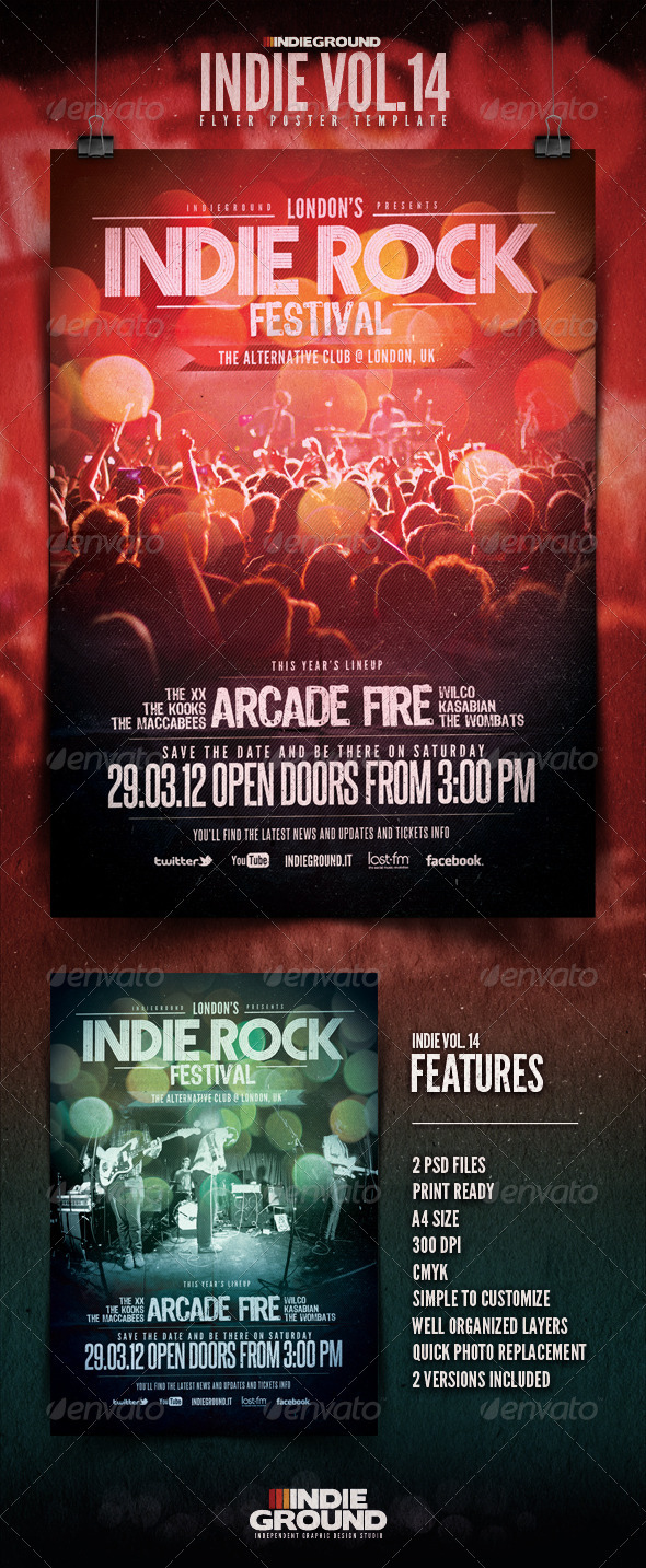 GraphicRiver Indie Flyer Poster Vol 14 1627921