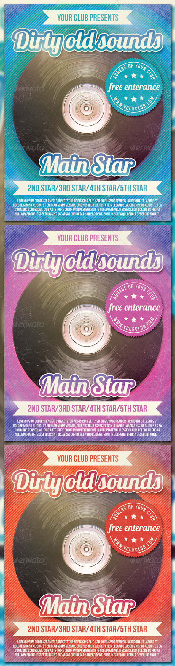GraphicRiver Dirty Old Sounds 1579889