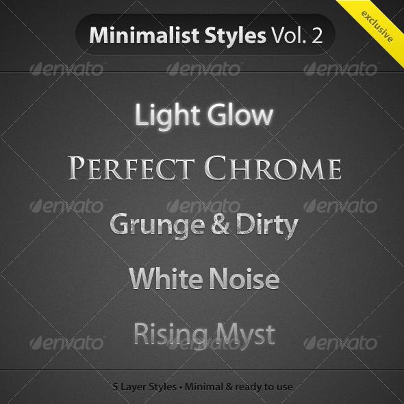 GraphicRiver MinimalistStyles Vol.2 57542