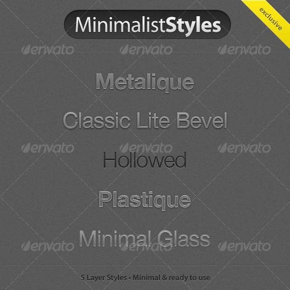 GraphicRiver MinimalistStyles 55944