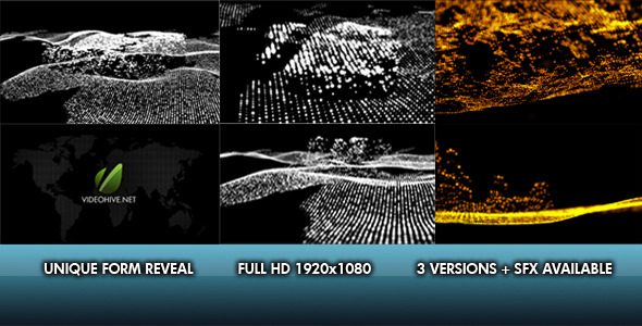 VideoHive Unique Form Reveal 3 IN 1 1630120