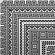 Pixel border patterns - GraphicRiver Item for Sale