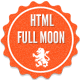 Full moon - HTML Template - ThemeForest Item for Sale