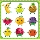 Cartoon fruits - GraphicRiver Item for Sale