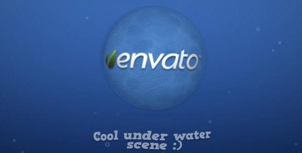 VideoHive Underwater Logo 1605526