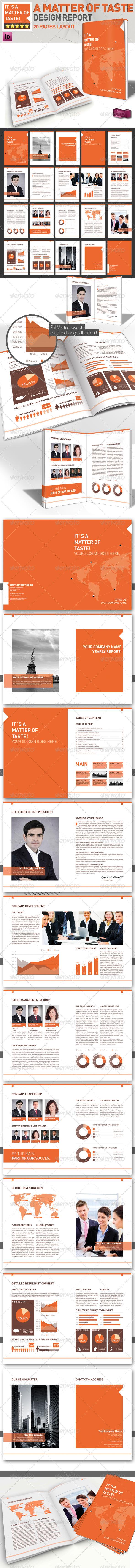GraphicRiver Professional Brochure Magazine Template A4 1635386