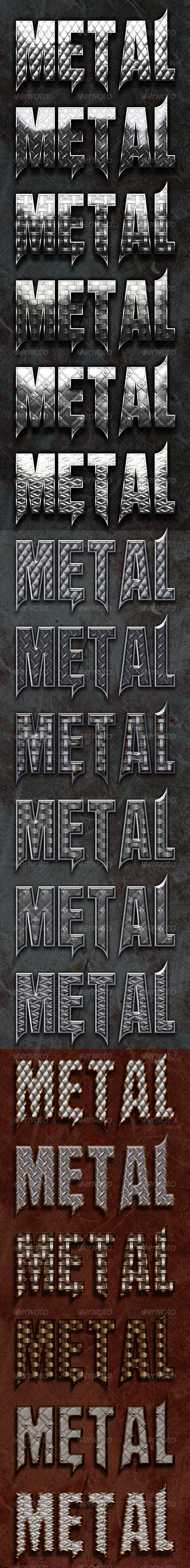 GraphicRiver Bonded Metal Style 1635771