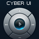 CYBER Style User Interface Elements - GraphicRiver Item for Sale