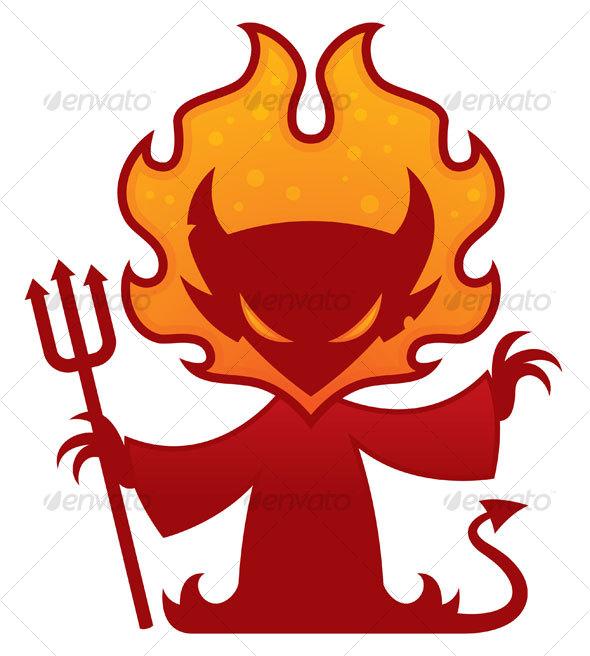 GraphicRiver Devil Cartoon Character 64109