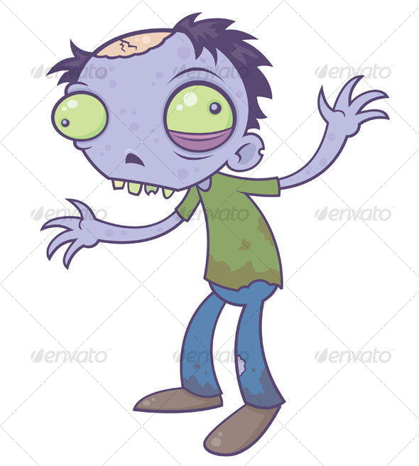 GraphicRiver Cartoon Zombie 64112