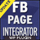 FB Page Integrator - WordPress Plugin - CodeCanyon Item for Sale