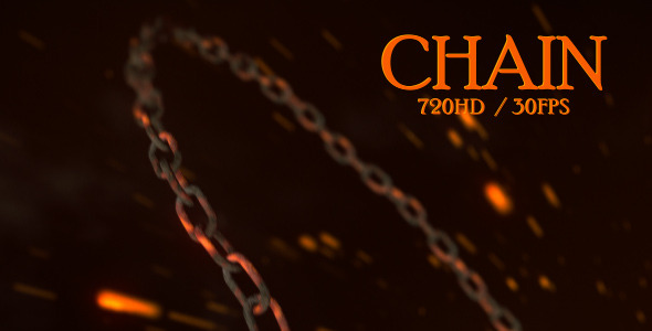 After Effects Project - VideoHive Hot Chain Revealer 1599311
