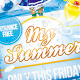 My Summer Flyer Template - GraphicRiver Item for Sale
