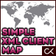 Simple and Flexible XML Client Map - ActiveDen Item for Sale