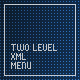 XML two level menu - ActiveDen Item for Sale