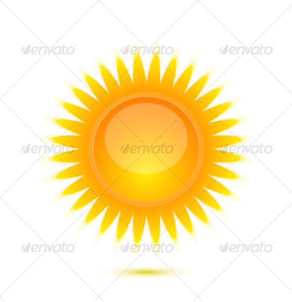 GraphicRiver Sun icon 64698