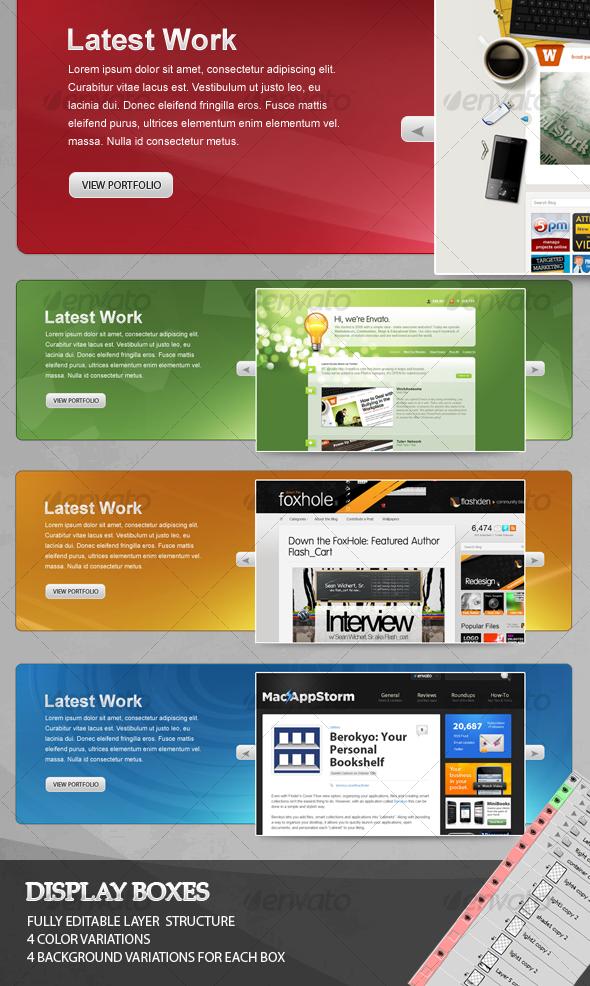 GraphicRiver Web Slider Box 64699
