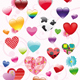 The complete set of hearts - GraphicRiver Item for Sale