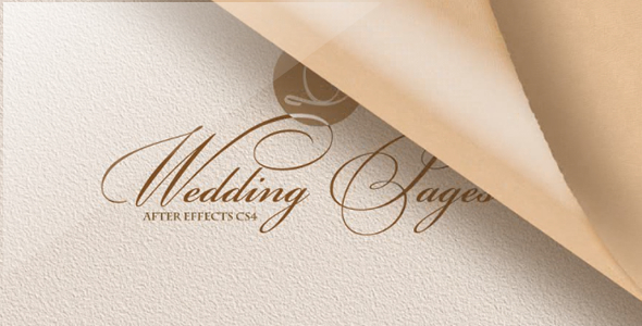 VideoHive Wedding Pages 1666533