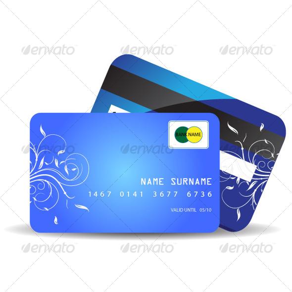 GraphicRiver Credit card 65073