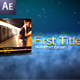 Beautiful Night AE Project - VideoHive Item for Sale