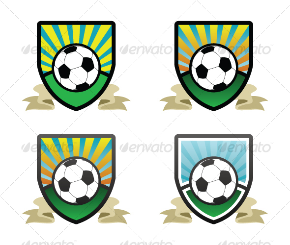 GraphicRiver Soccer Shield Emblem 65149