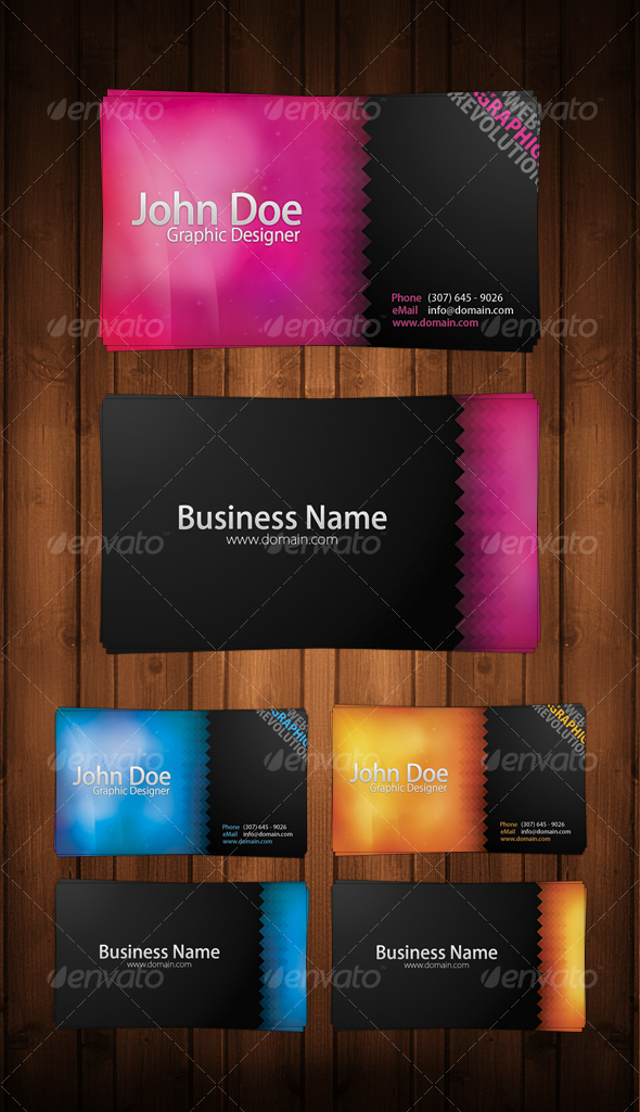 GraphicRiver Colorfull Business Card 65208