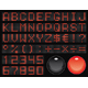 dot-matrix font - GraphicRiver Item for Sale